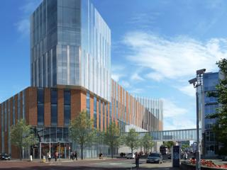 66,000 sq.m Ulster University Belfast campus construction starts