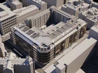 UCLH Proton Beam Therapy Centre is submitted for Planning Approval to Camden Council