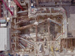 Building for the Future - UCLH excavation complete